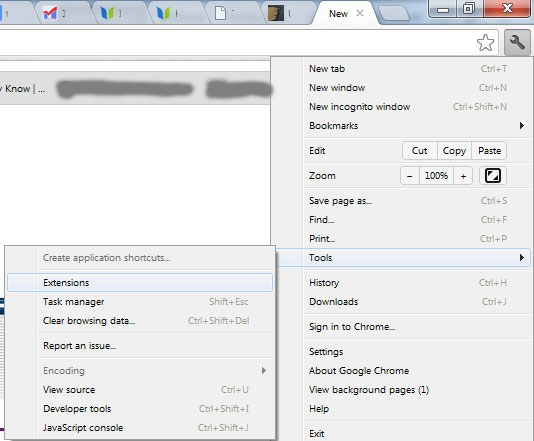 how to delete email suggestions showing on google chrome