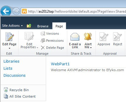 SharePoint 2010 Web Parts Overview Image3
