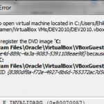 Resolve Attached Media Conflicts In VirtualBox