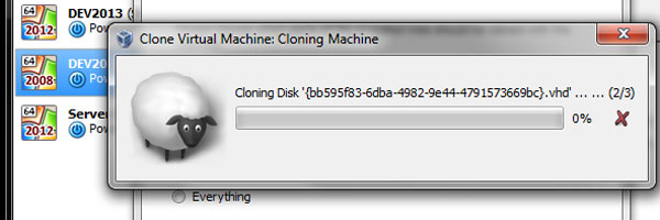 Moving VirtualBox VM