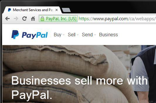 ssl confirmation paypal