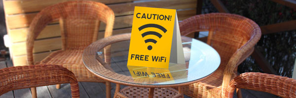 beware of public wifi