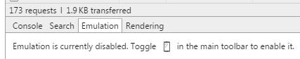 Chrome Geolocation Emulation Tab