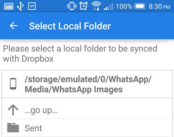 Dropsync-Local-Folder