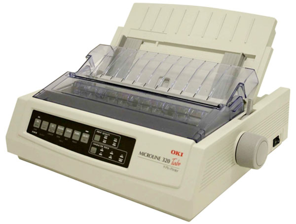 Old Technologies - Dot Matrix Printer