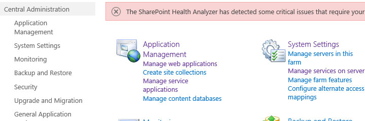 Get SharePoint central admin url with C# and PowerShell