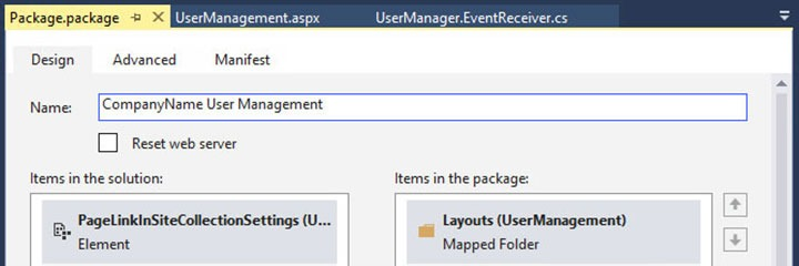 Renaming output WSP of a Visual Studio SharePoint project