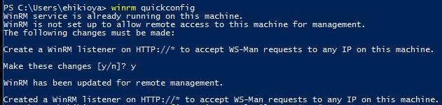 Configure WinRM Listener Azure