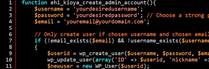 how to hack wordpress admin username and password