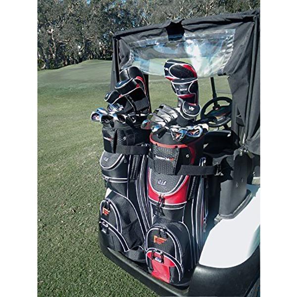 Founders Club Premium Cart Bag - On Golf Cart