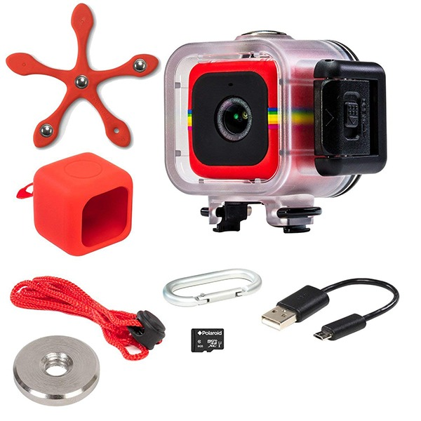 Polaroid Cube Act II Lifestyle Action Video Camera - Accessories