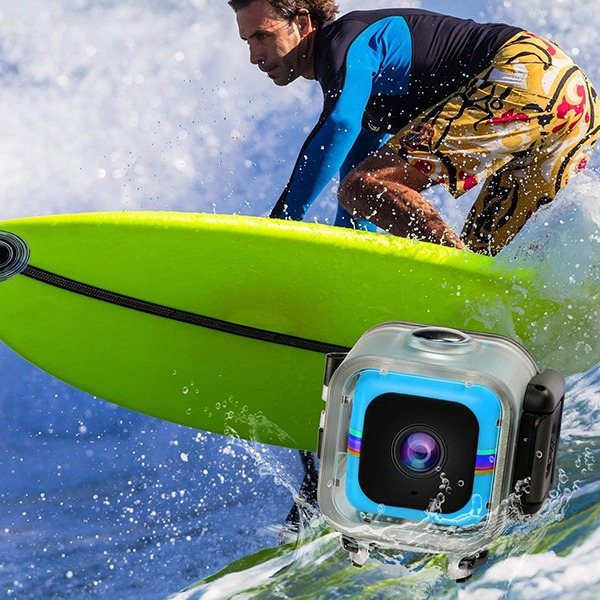 Polaroid Cube Act II Lifestyle Action Video Camera - Surfing