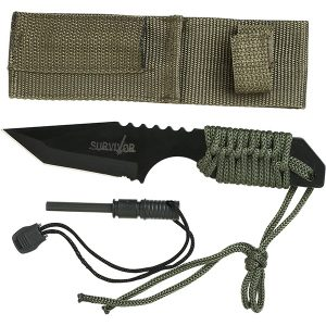 Survivor Fixed Blade Outdoor Knife Kit