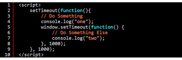 Ensure Execution Order Of Multiple SetTimeout() Functions In JavaScript