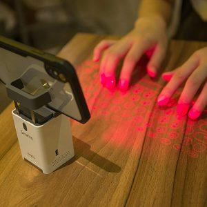 Laser Projection Keyboard and Piano [Serafim Keybo] - Phone Mount