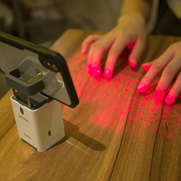 Laser Projection Keyboard and Piano [Serafim Keybo] – Phone Mount