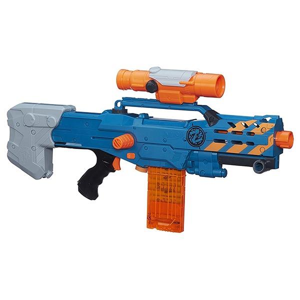 NERF Sniper Rifle [Zombie Strike ZED Squad Longshot CS-12 Blaster] 3