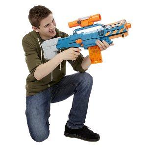 NERF Sniper Rifle [Zombie Strike ZED Squad Longshot CS-12 Blaster]