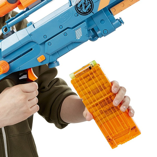NERF Sniper Rifle [Zombie Strike ZED Squad Longshot CS-12 Blaster] 6