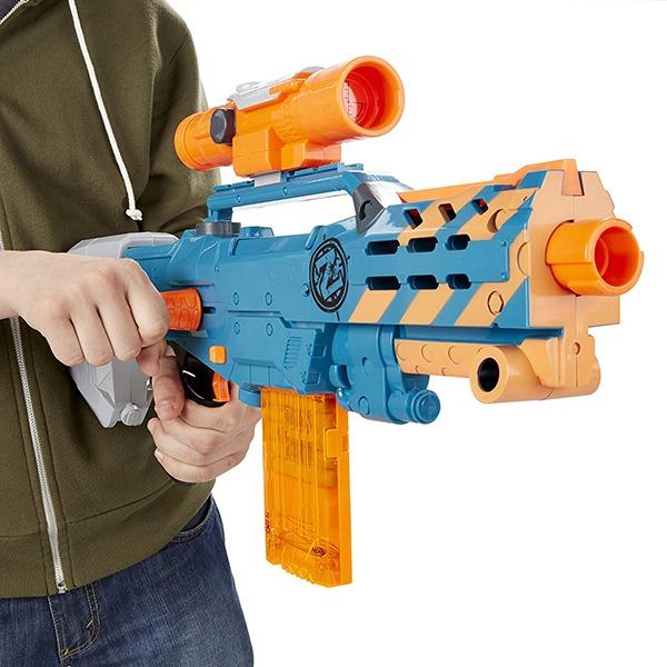 NERF Sniper Rifle [Zombie Strike ZED Squad Longshot CS-12 Blaster] 8