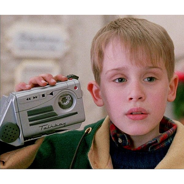 Talkboy Tape Recorder and Player with Kevin McAllister As Seen in Home Alone II