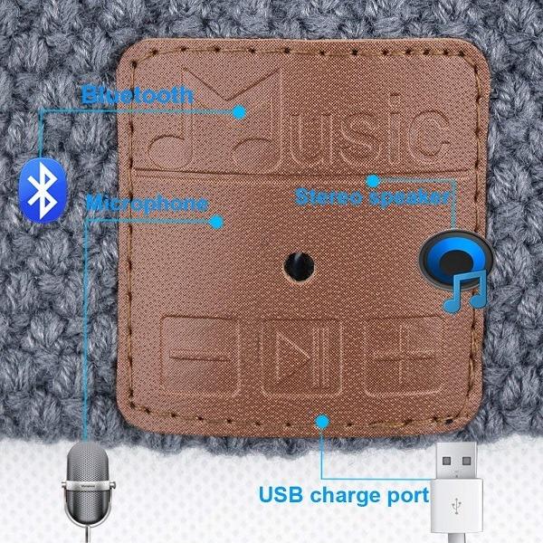 Mydeal wireless Bluetooth Beanie user-friendly control panel