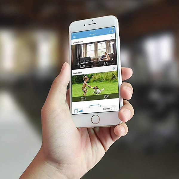 Blink XT Home Security Camera View On Mobile