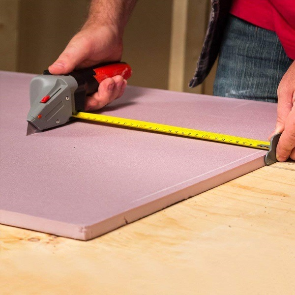Drywall Axe tape measure guide