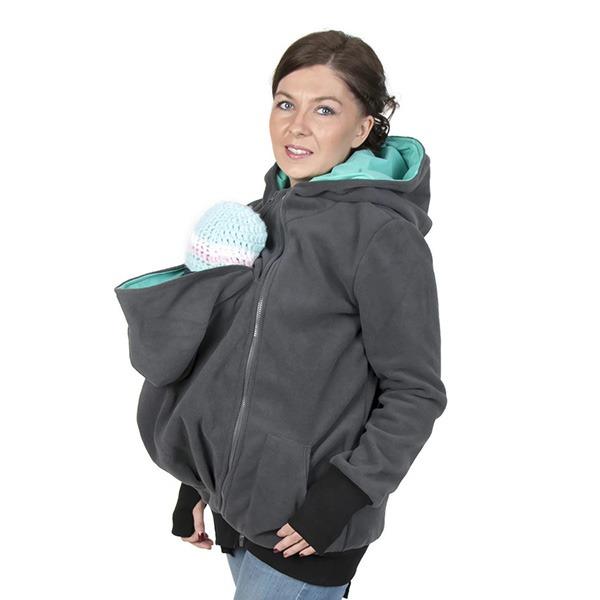 FUN2BEMUM Babywearing Maternity Jacket In Use