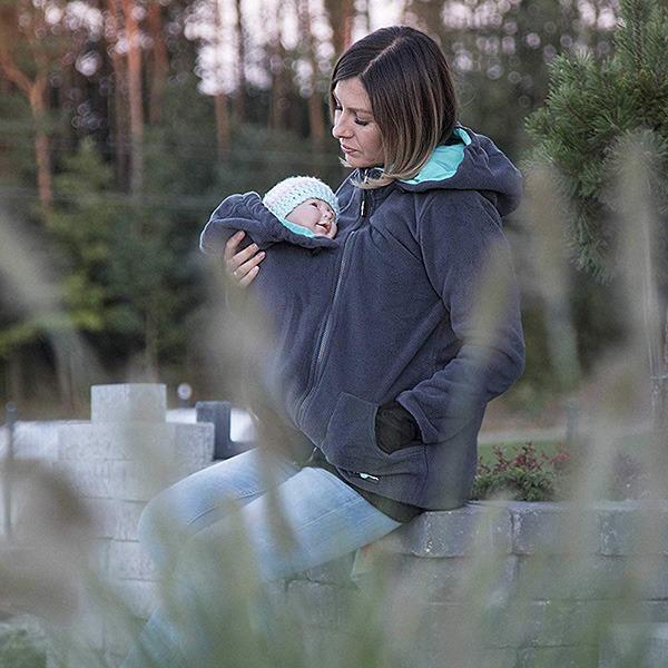 FUN2BEMUM Babywearing Maternity Jacket Sitting