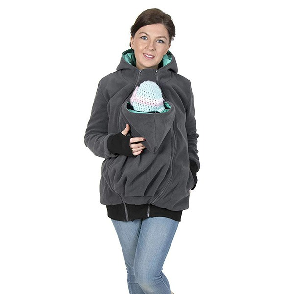 FUN2BEMUM Babywearing Maternity Jacket With Baby