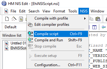Building A Windows Application Setup Package Using NSIS