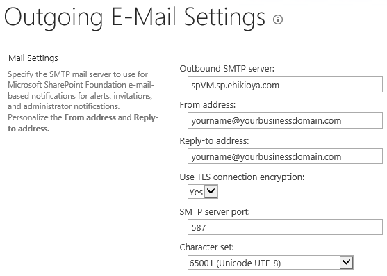 Sending Emails From SharePoint - Outgoing Email Settings [Central Admin]