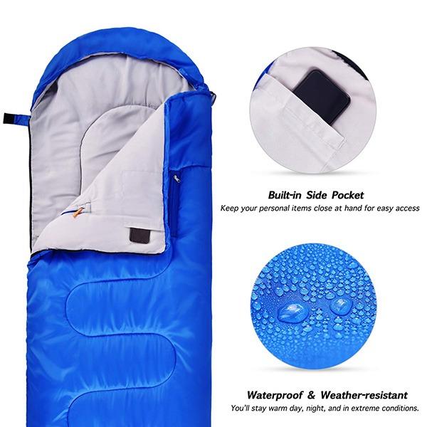 Sportneer Wearable Sleeping Bag (waterproof and weather-resistant)