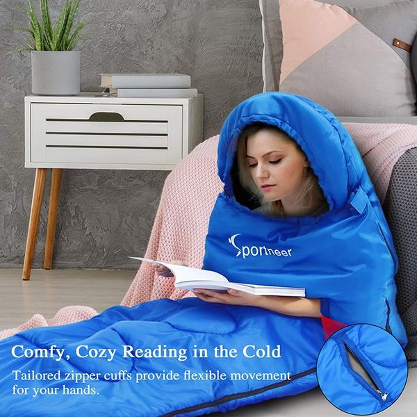 Sportneer Wearable Sleeping Bag (with hoodie)