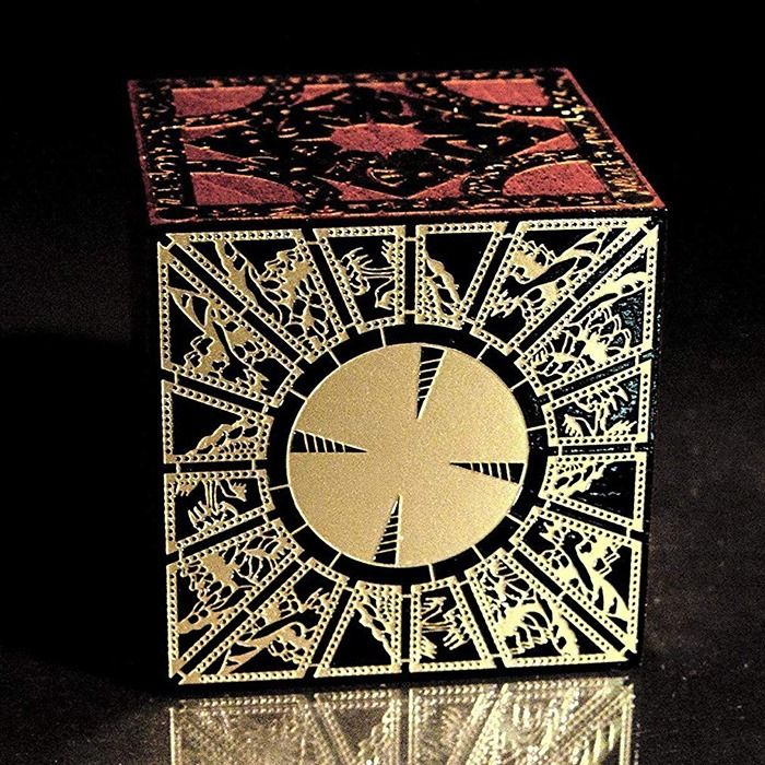 Black Lacquered Hellraiser Puzzle Box