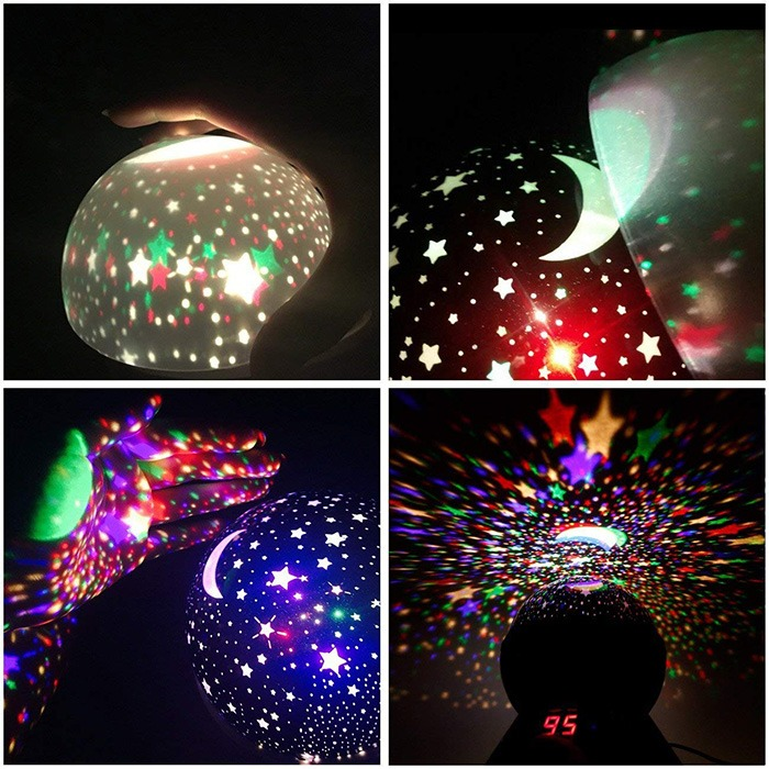 Cosmos Star Projector Lamp Ceiling Projections