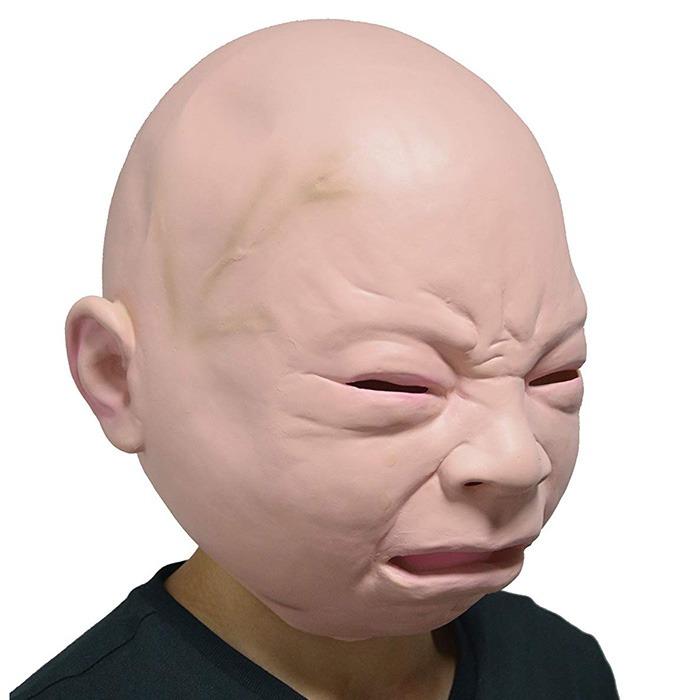 Creepy Baby Mask 4