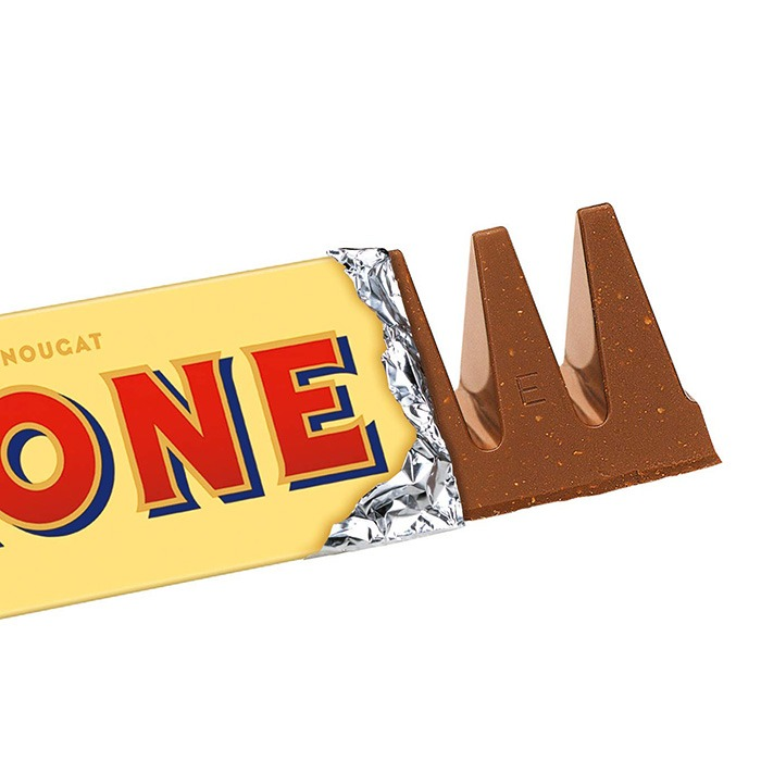 Giant Toblerone Bar [Partly Opened]