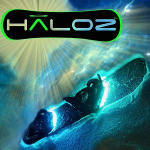 Haloz LED Snowboard Illumination System