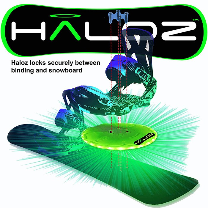 Haloz LED Snowboard Illumination System [Binding]