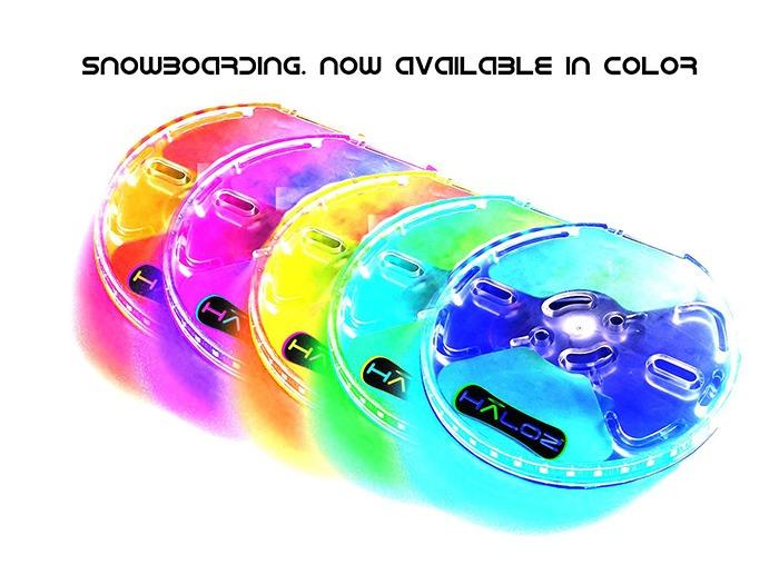 Haloz LED Snowboard Illumination System [Full Color Spectrum]