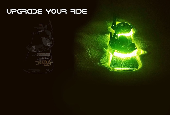 Haloz LED Snowboard Illumination System [Upgrade Your Ride]