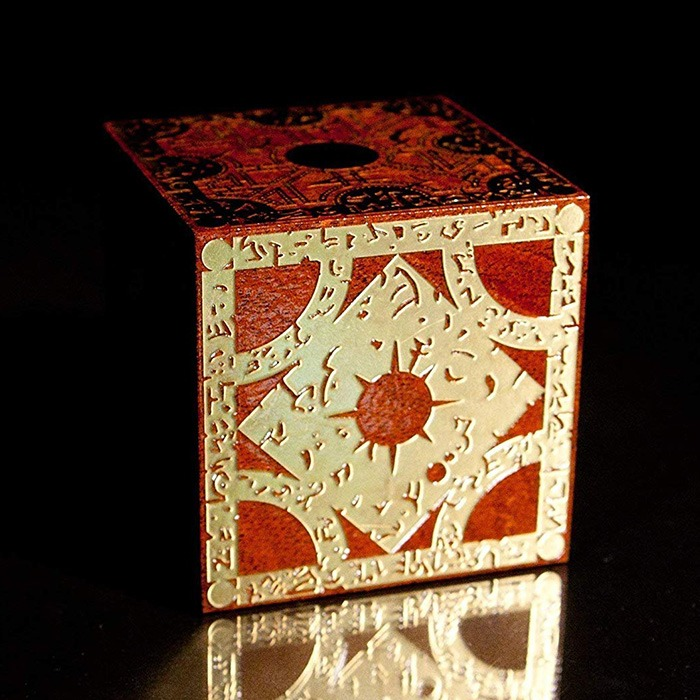 Hellraiser Puzzle Box On The Table