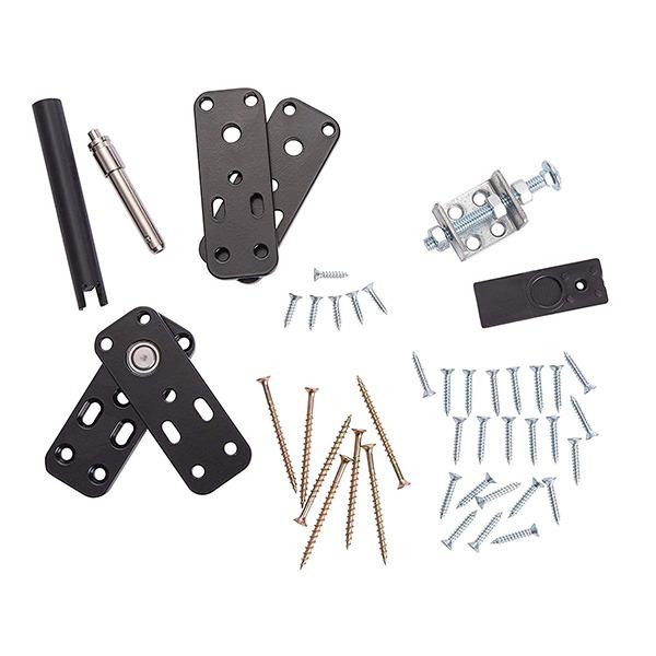 Hidden Door Hinge Kit Parts