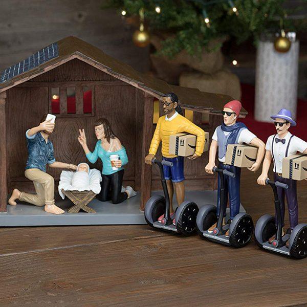 Hipster Nativity Set Cropped