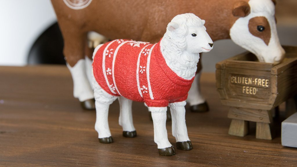 Hipster Nativity Set Sheep Full