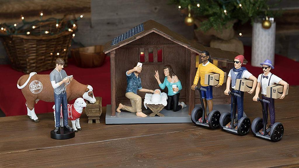 Hipster Nativity Set