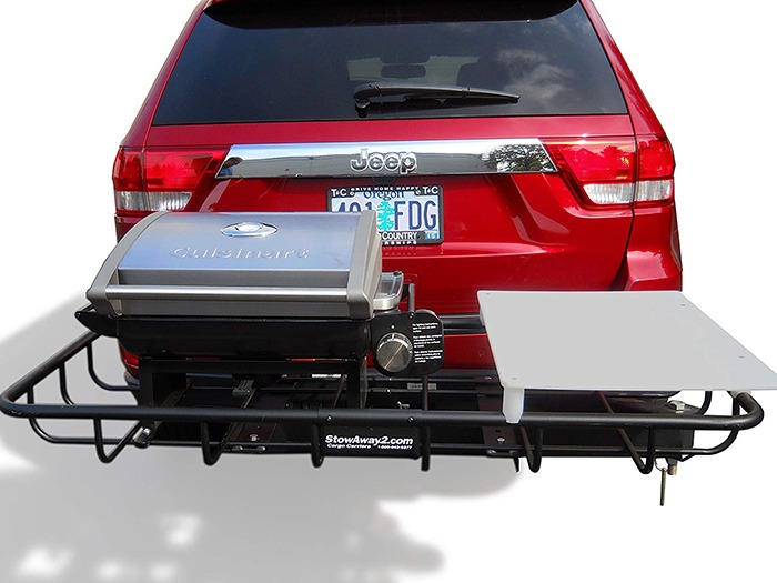 Hitch Mounted Tailgating Grill 4