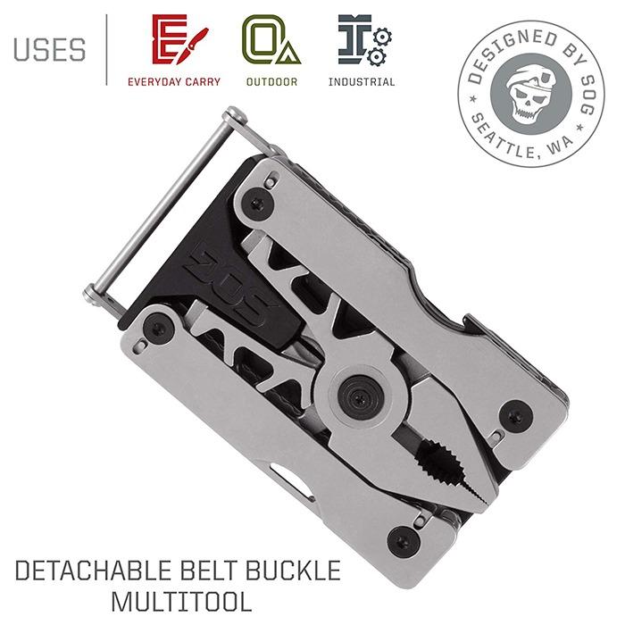 Multitool Belt Buckle Description